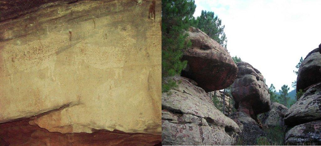 PINTURAS RUPESTRES de Albarracín