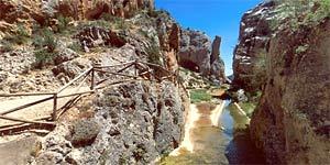 Cañon de los Arcos en Calomarde. A 17 km de Albarracín.