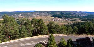 Mirador de Griegos. A 35 km de Albarracín.