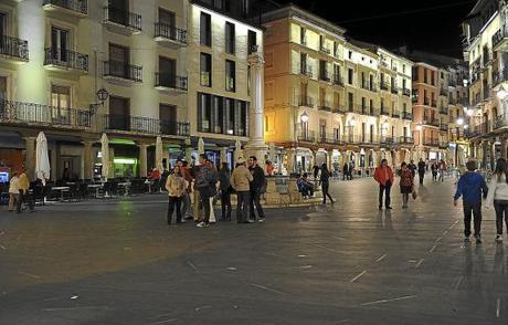 Teruel. Plaza del Torico