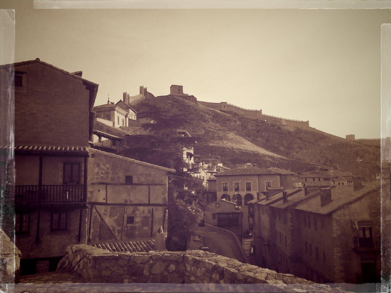 Buenos días desde Albarracín
