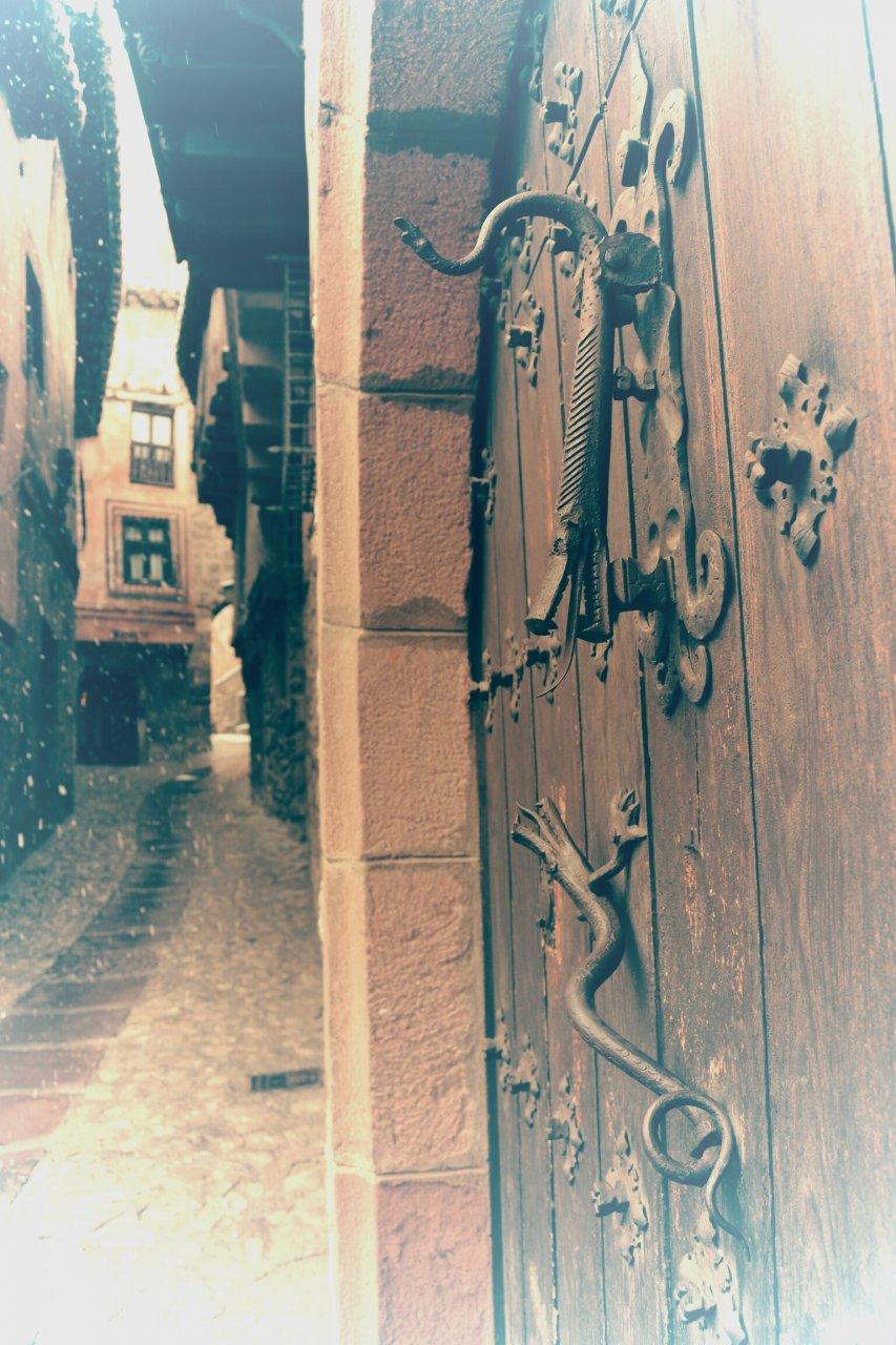 Un rincón de Albarracín…una mañana cualquiera