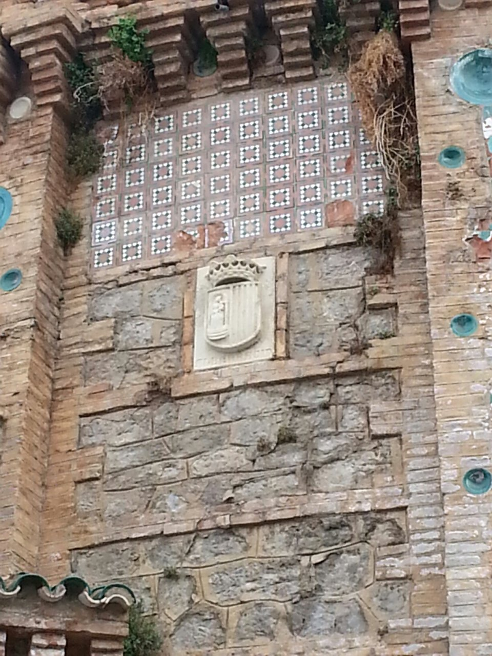 ¿Donde está este escudo de Albarracín?