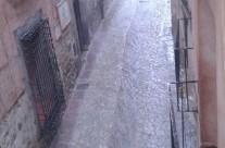 Tormenta sobre #Albarracín