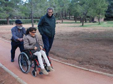 El Paisaje Protegido de los Pinares de Rodeno estrena un segundo sendero accesible – Albarracín, Bezas y Gea de Albarracín