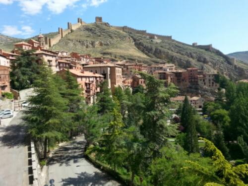 Fantástica mañana en #Albarracin