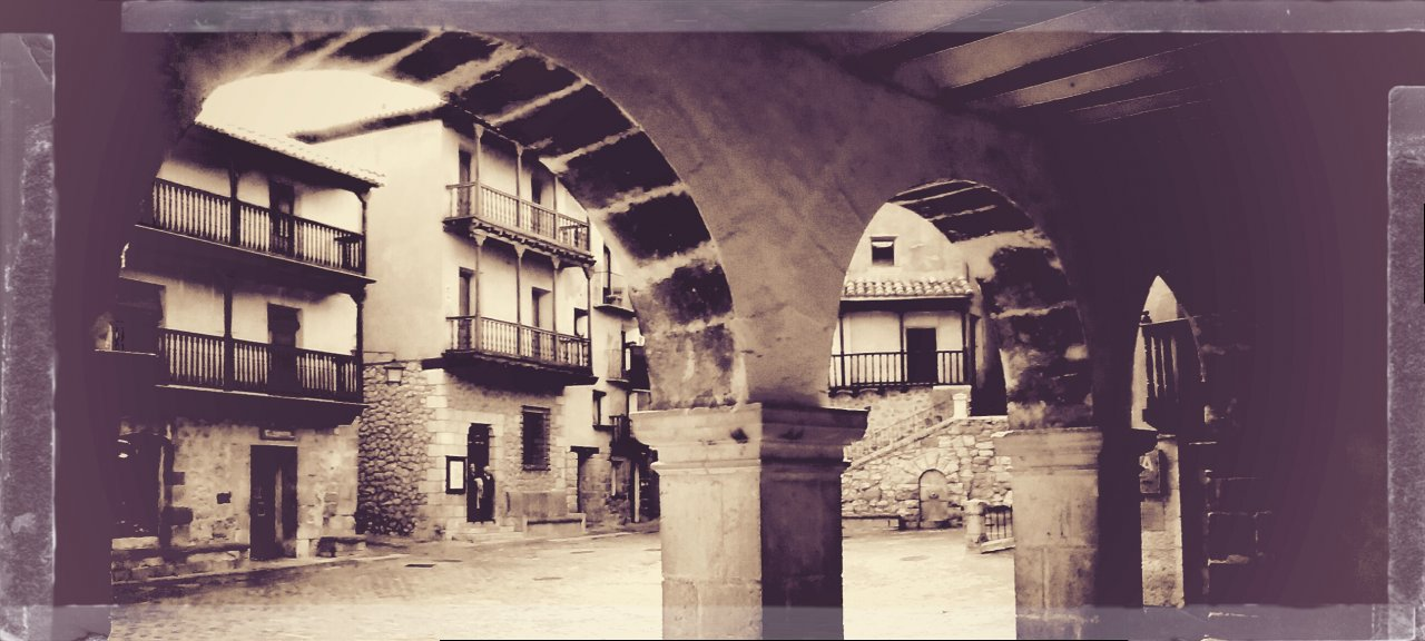 #NosVemos en la #PlazaMayor de #Albarracin