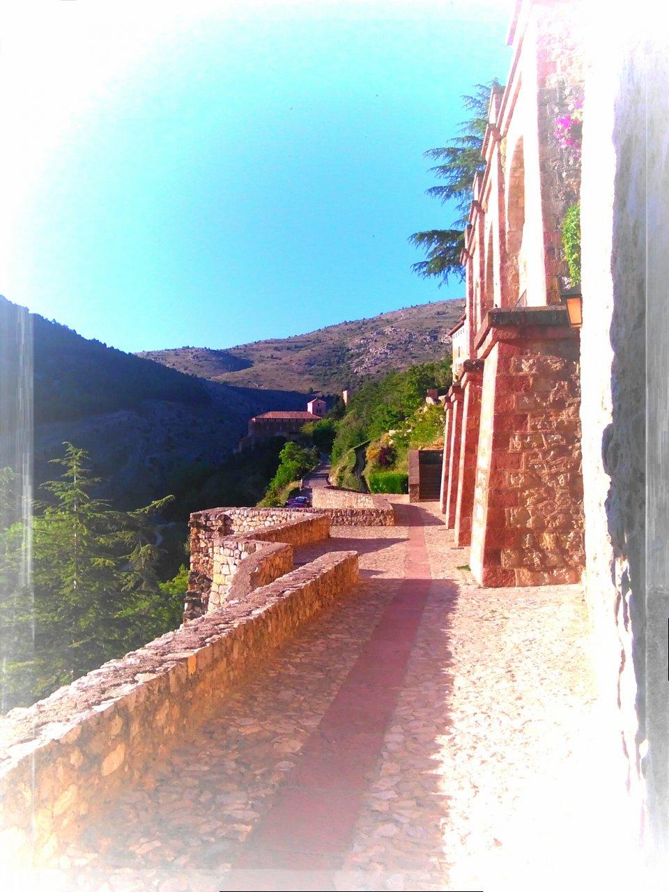 #Mañana de #Primavera de #Junio en #Albarracin