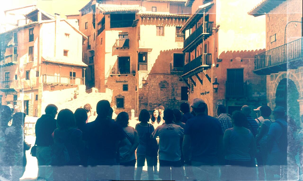 #Momentos de la #Visita con Andador Visitas Guiadas … no te la pierdas!!