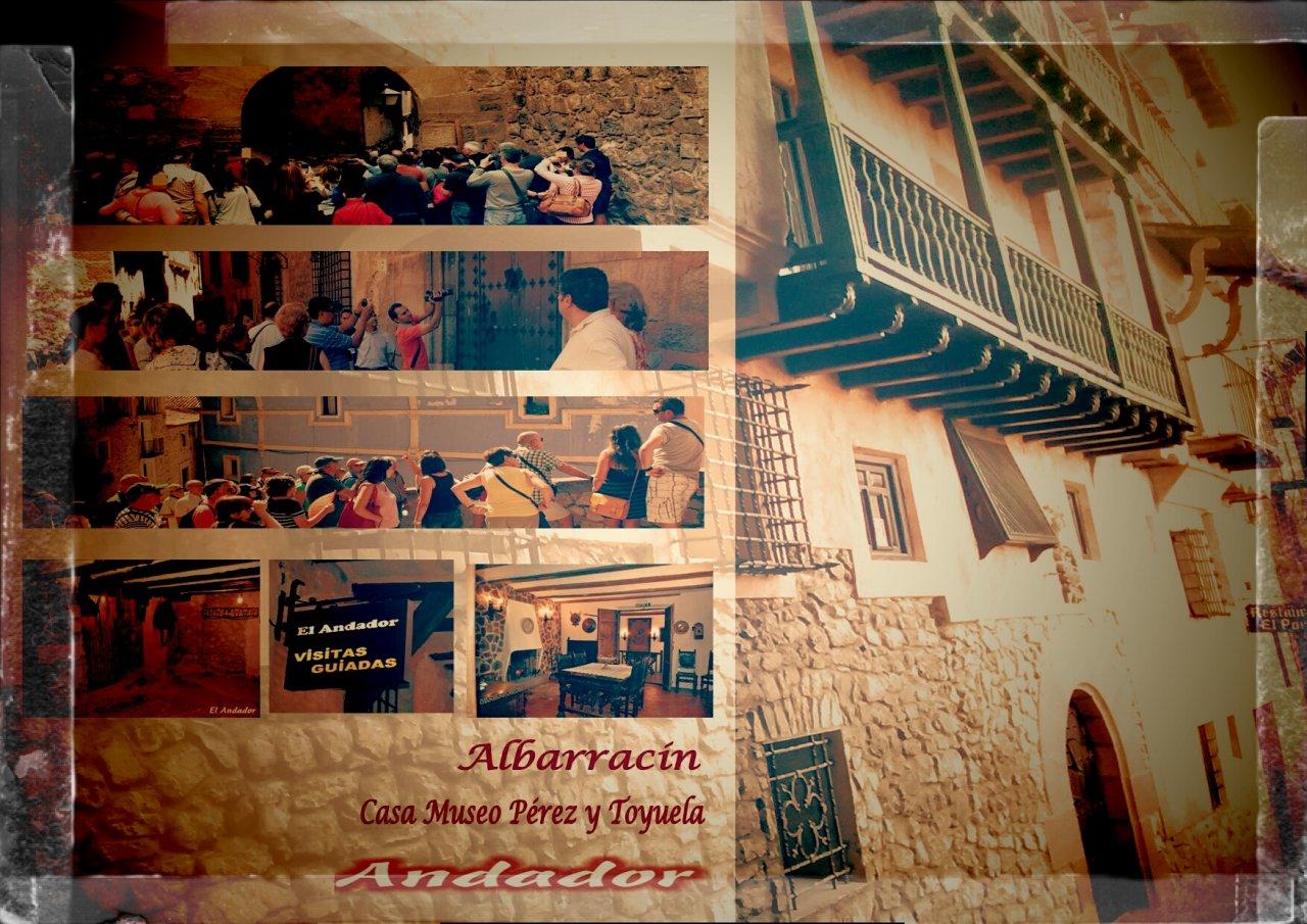 #Albarracin con #VisitaGuiada #Andador tienes #MuchoQueVer con ella