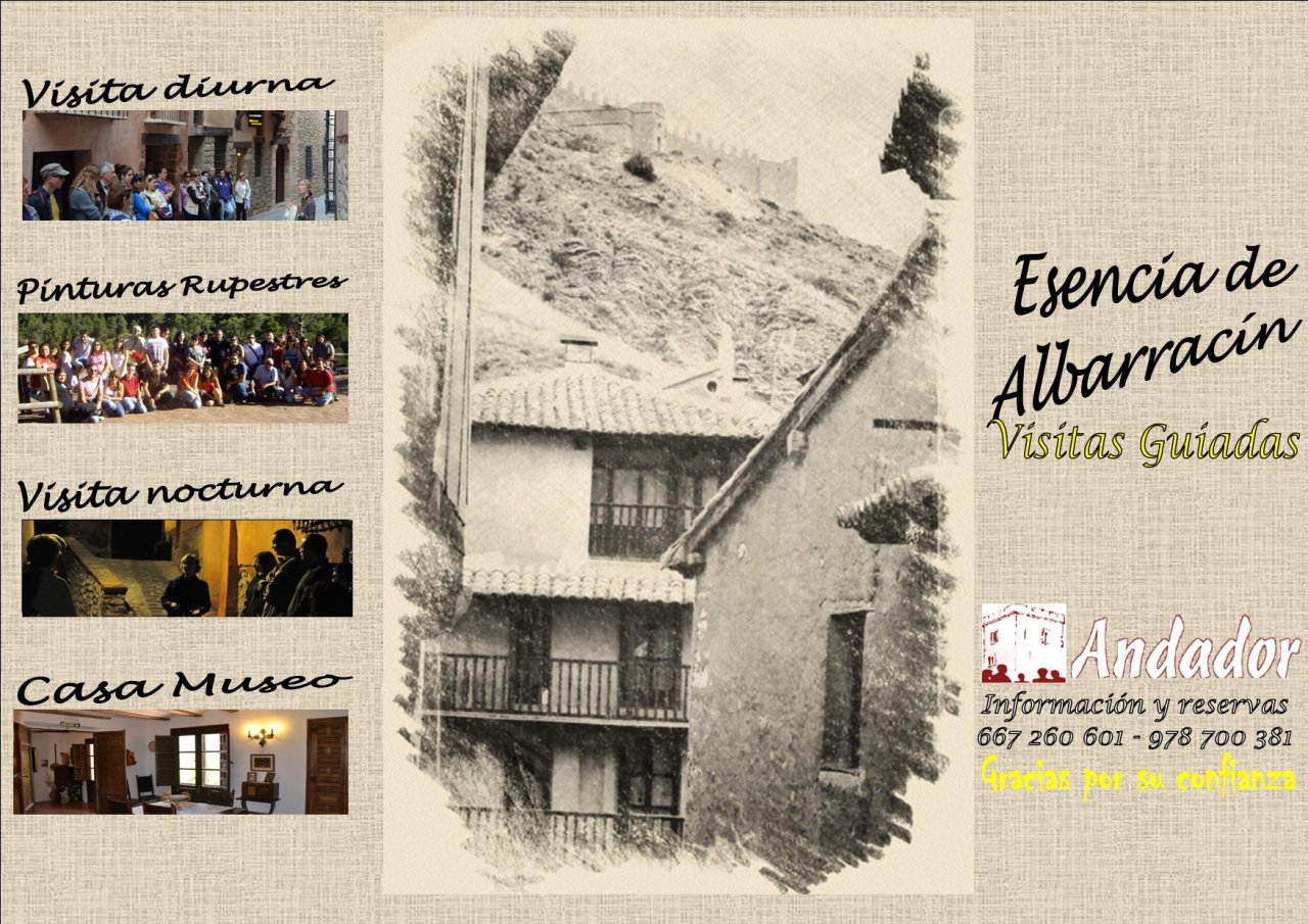 #FelizDomingo en #Albarracin con #AndadorVisitasGuiadas