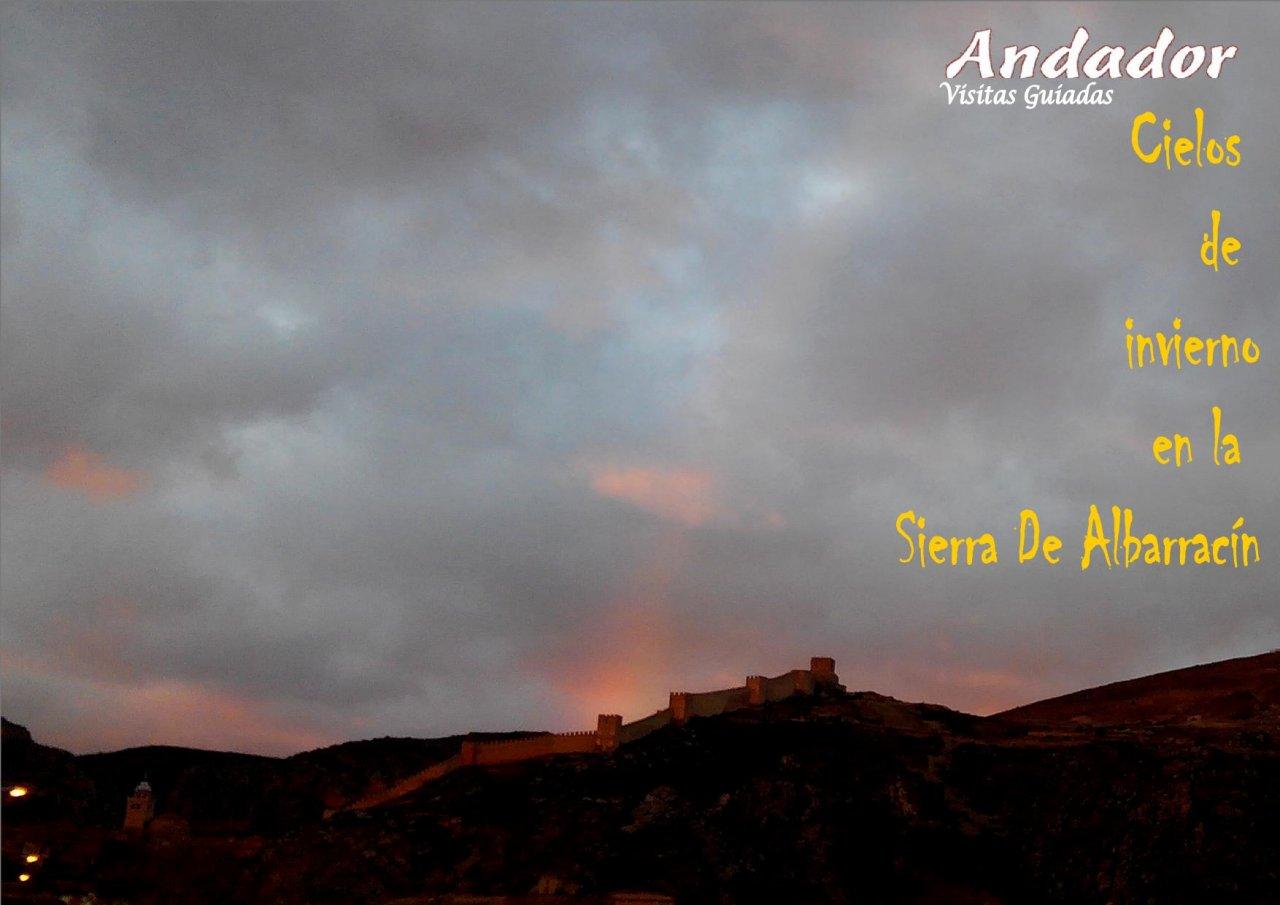 #FelizViernes desde #Albarracin con #CielosDeInvierno