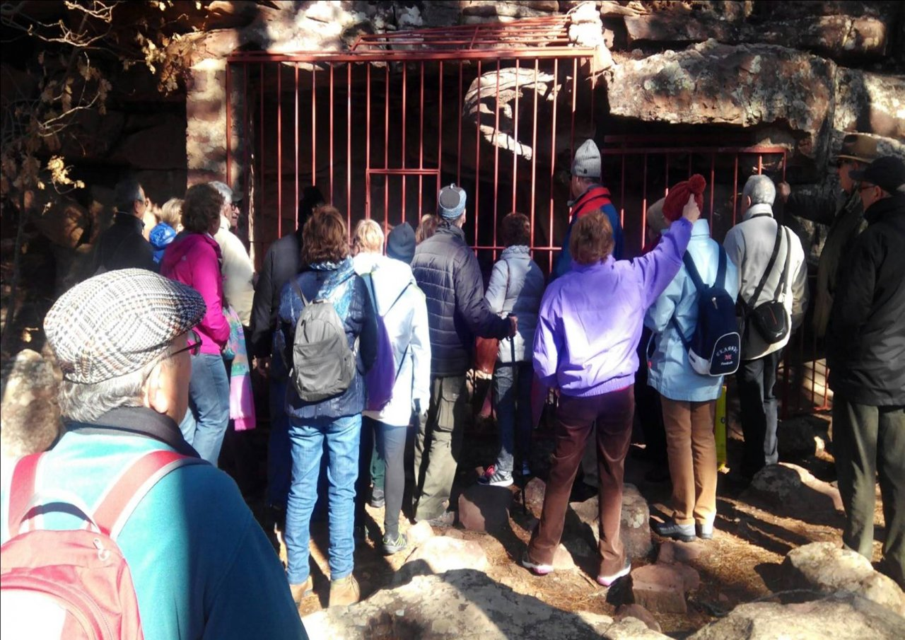 De #VisitaGuiada en #PinturasRupestres de #Albarracin
