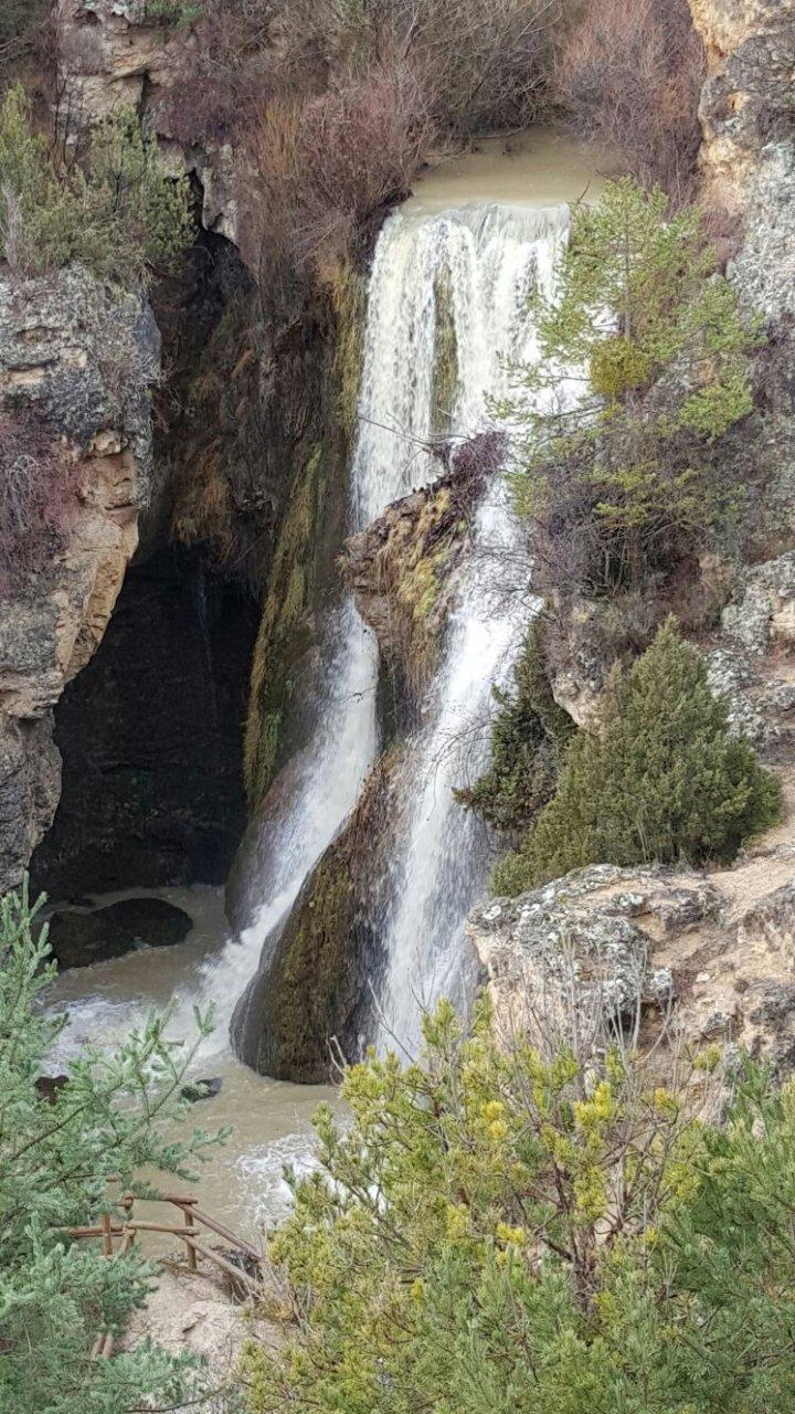 #FelizSabado desde #Albarracin y #SierraDeAlbarracin #CascadaDeCalomarde