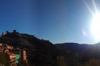 #BuenosDias desde #Albarracin con #VisitaGuiada en #Albarracin y #CasaMuseo