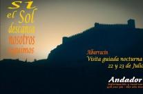 El 22 y 23 de #Julio … #VisitaGuiada #Nocturna en #Albarracin