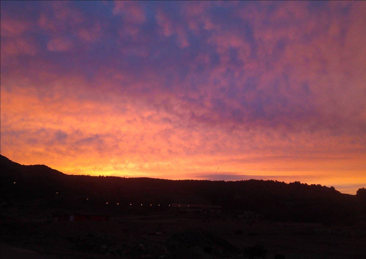 #Amaneceres en #Albarracín con #VisitaGuiada #AndadorVisitasGuiadas