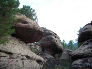 Caprichosas formaciones de areniscas