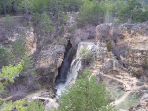 Cascadas como la de Calomarde