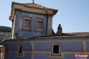 ¿Por qué hay una casa azul en Albarracín?