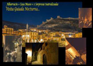 En Agosto, Albarracín Nocturno ... con sorpresas!