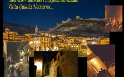 Del 27 de Agosto al 1 de Septiembre…ALBARRACÍN NOCTURNO!
