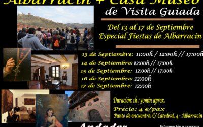 Horarios ESPECIAL FIESTAS de Albarracín