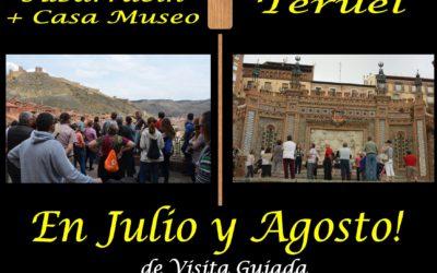 Esta semana…Albarracín y Teruel de visita guiada y a partir del Viernes… Albarracín Nocturno!