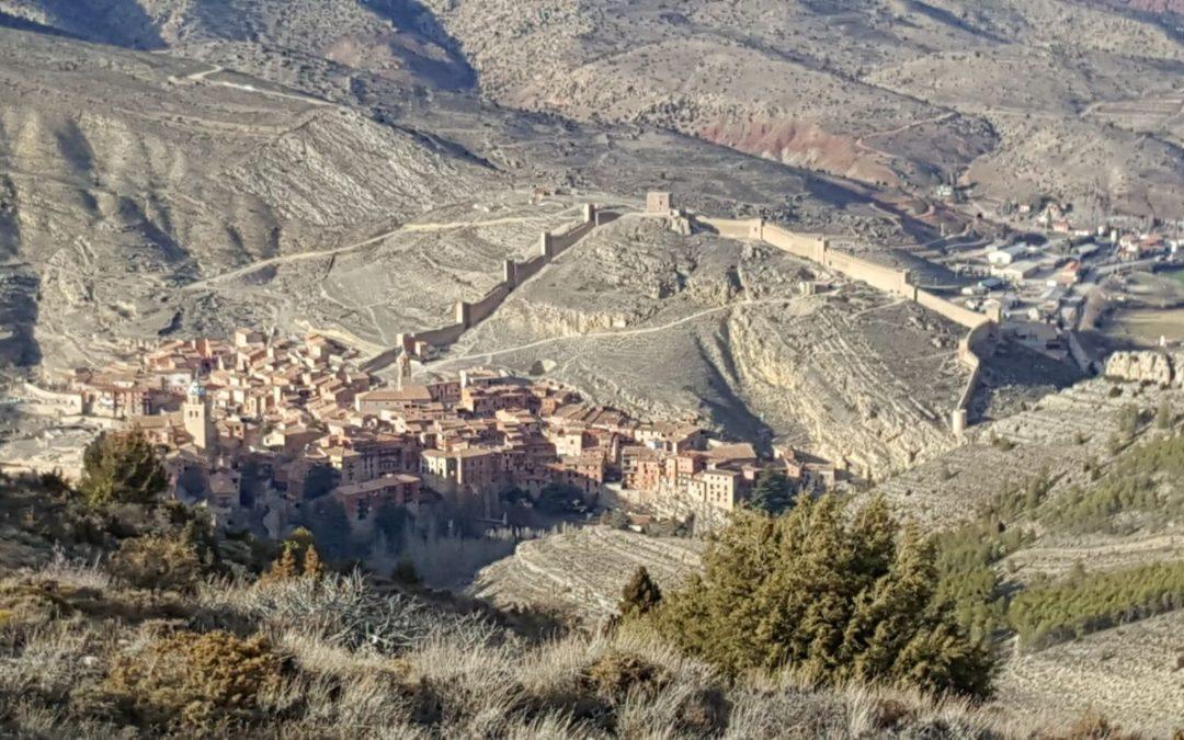 #Albarracín #panorámica #preciosa #dignadevisitaguiada