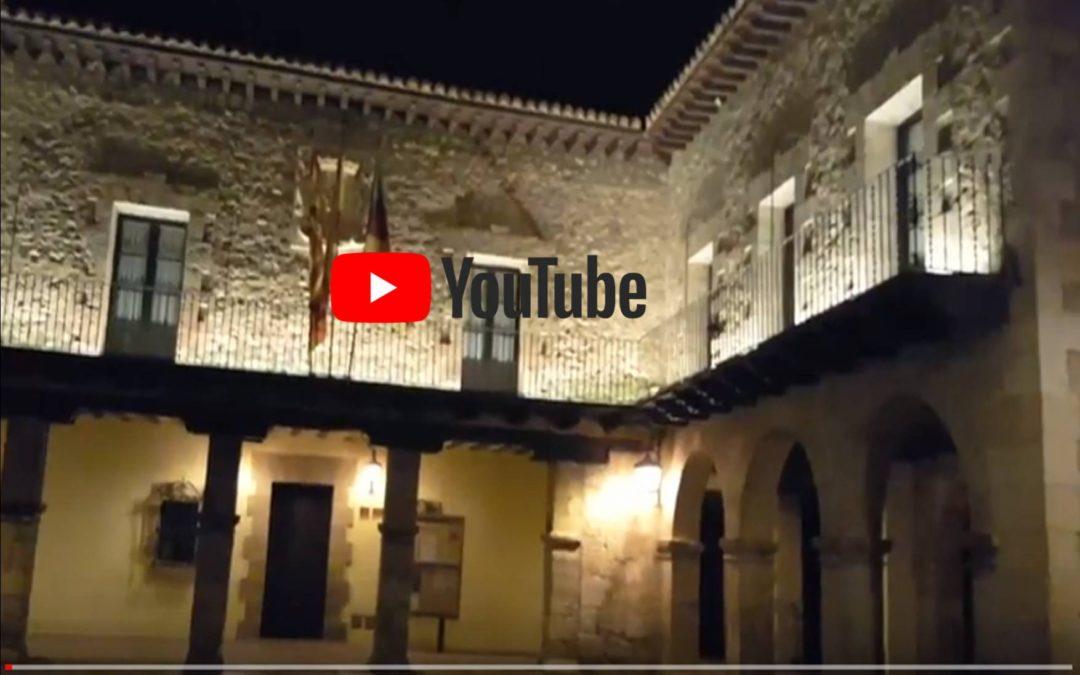 Lluvia en la noche de Albarracín
