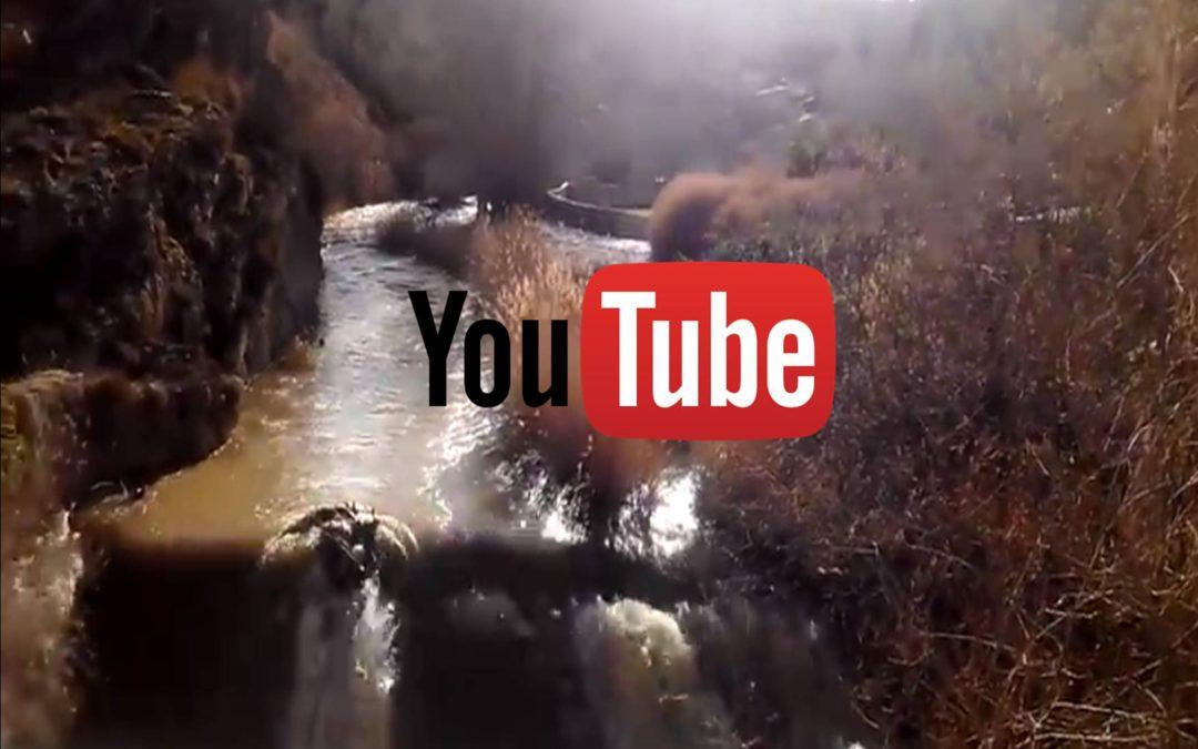 Crecida del Río Guadalaviar a su paso por Albarracín