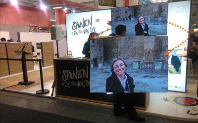 #GrataSorpresa en el ITB de Berlín…sorpresas de la vida que te hacen sonreir