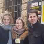 Jesús Cintora y Rocío Delgado en Albarracín con Andador Visitas Guiadas