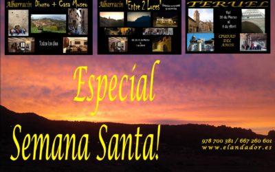 Especial SEMANA SANTA con ANDADOR Visitas Guiadas
