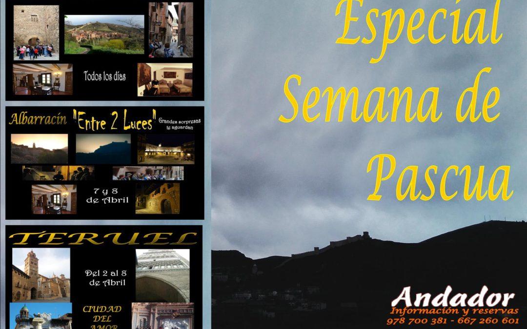 Especial SEMANA DE PASCUA en Albarracín y Teruel