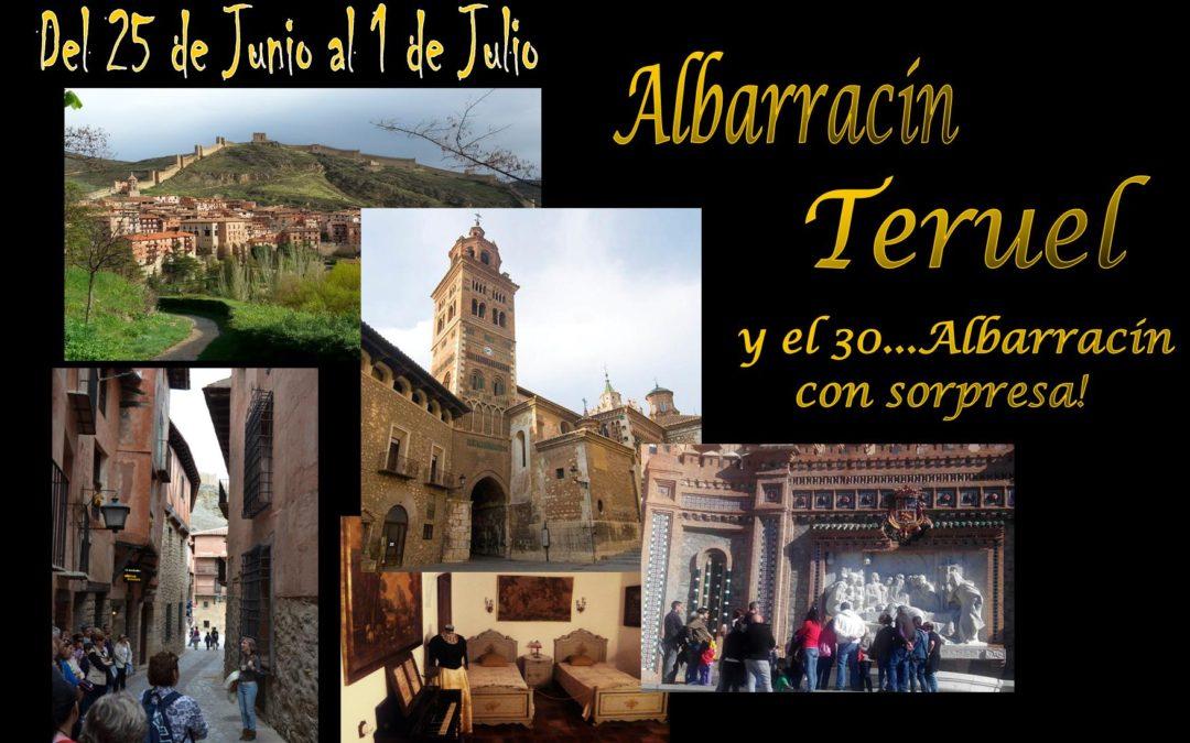 La última semana de Junio…Albarracín y Teruel todos los días…y el 30: Albarracín con sorpresa!