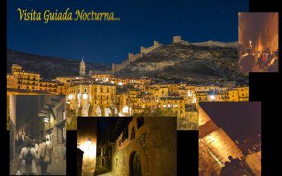 Del 27 de Julio al 31 de Agosto… Albarracín Nocturno con visita guiada y sorpresas!
