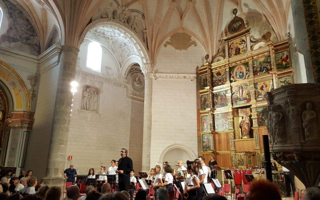 Fragmento del Concierto de la Unión Musical Cultural de Albarracín con la dirección de Manuel Bonachera