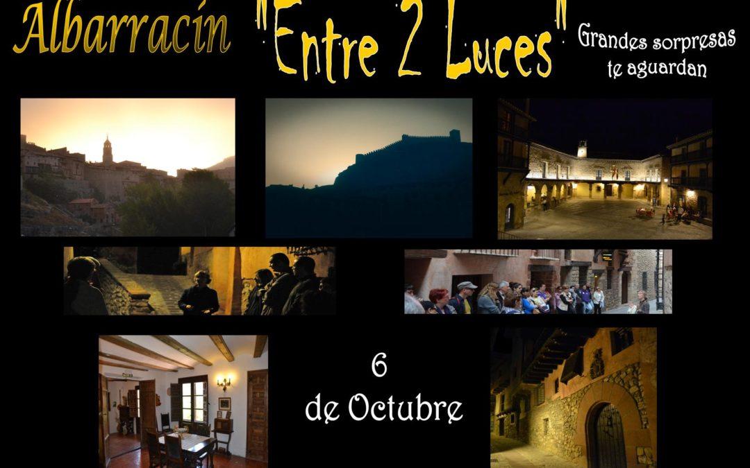 "Este Sábado, 6 de Octubre….Visita Guiada Albarracín ""Entre 2 Luces"" con sorpresas!"