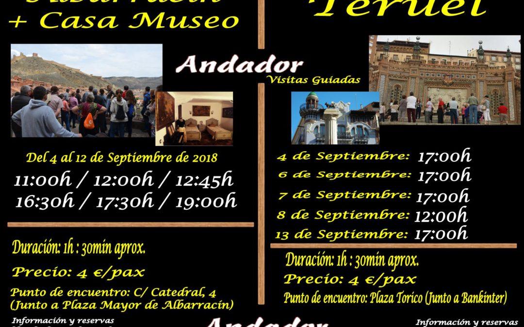 Primera semana de Septiembre con ANDADOR Visitas Guiadas