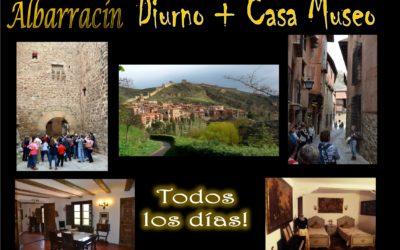 Todos los días, Visita Guiada a Albarracín + Casa Museo…te esperamos!