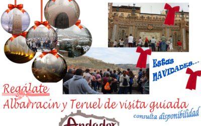Estas Navidades…Albarracín + Casa Museo y Teruel…os esperamos!