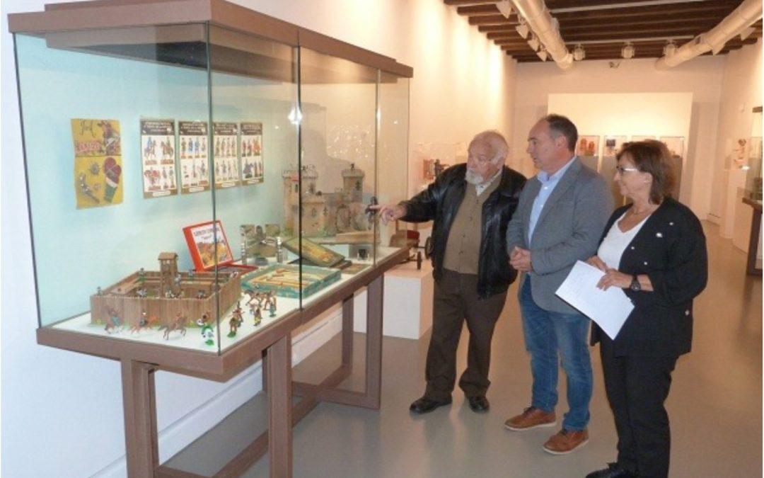 Ampliada la muestra del Museo Provincial sobre la historia y contenidos del Museo de Juguetes de Albarracin