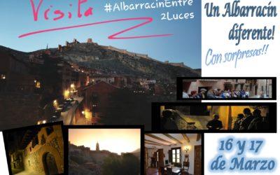 Este 16 y 17…al atardecer…Albarracín Entre 2 Luces y sorpresas!