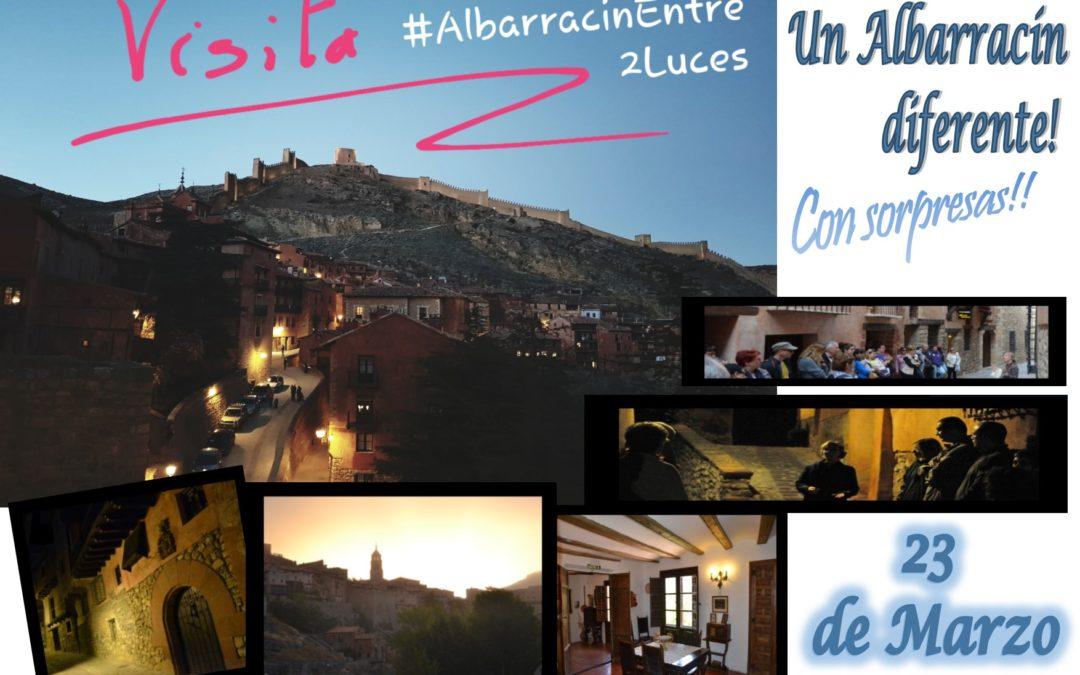y este Sábado 23 de Marzo…cuando cae la tarde…Albarracín de visita guiada con sorpresas!!