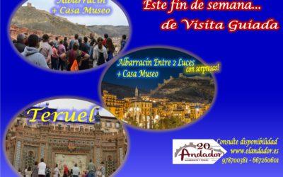 Fin de semana…tenemos planes para ti! Albarracín o Albarracín Entre 2 Luces o Teruel! …consulta disponibilidad!