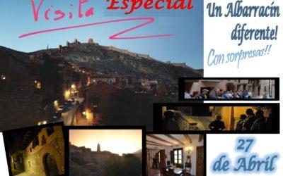 Este Sábado 27 de Abril por la tarde…Albarracín ESPECIAL…y con sorpresas!
