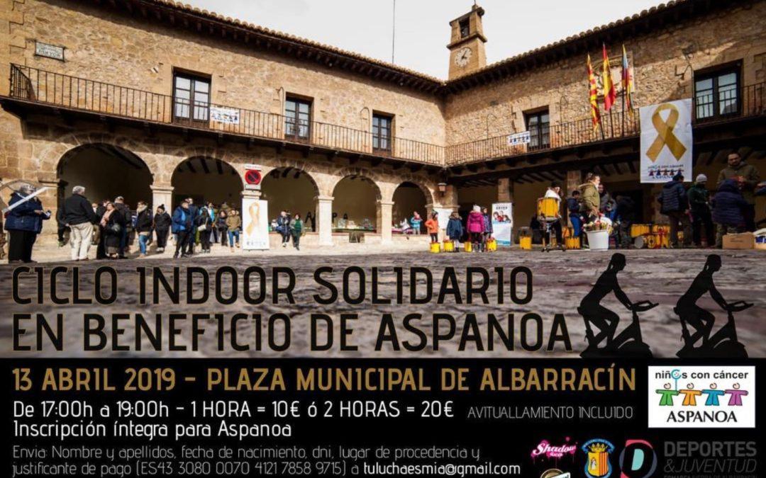 CICLO INDOOR EN ALBARRACÍN A FAVOR DE ASPANOA…ANÍMATE!