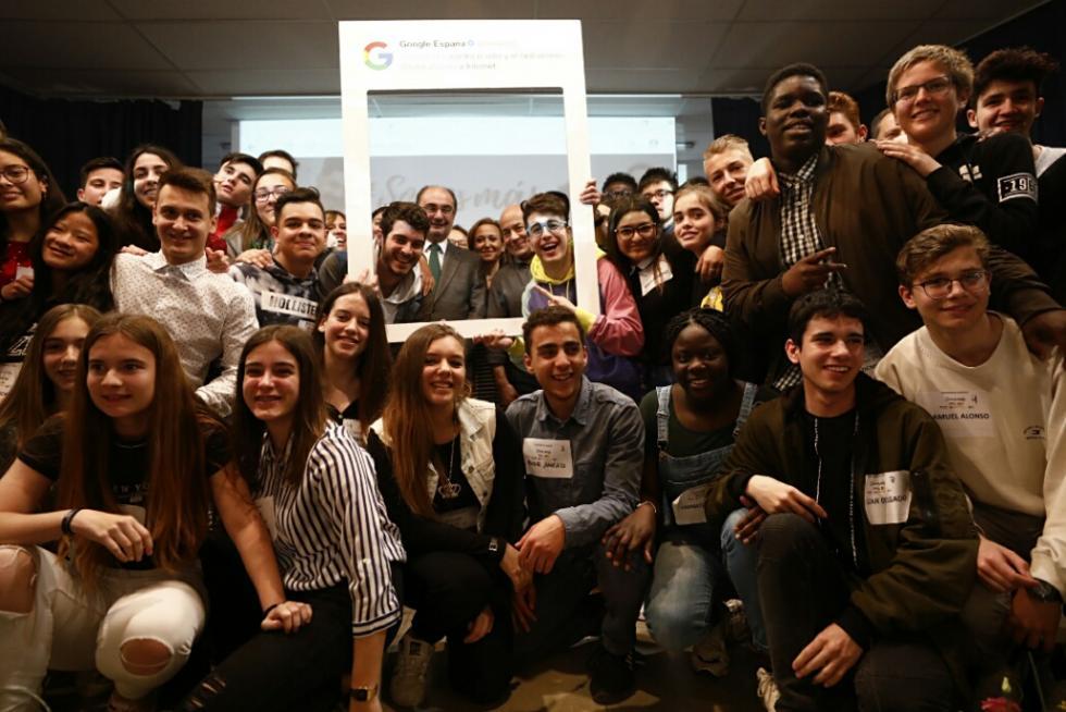 NOTICIA Heraldo de Aragón: Dos 'youtubers' imparten un taller contra el discurso del odio en las redes sociales