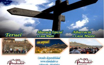 Este Fin de Semana…Albarracín y Teruel….el sábado por la tarde…Albarracín Especial con sorpresas!